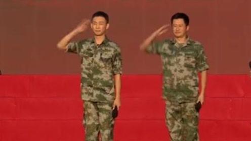 吴京和张译走进阅兵慰问村,张译激动的说一个词:回家了