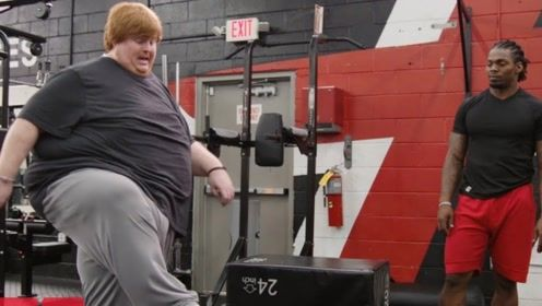 """300斤小伙进健身房,声称要减肥100斤,结果遭现实""""打脸"""""""