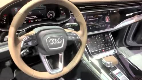 每日一车,中大型SUV标杆,全新奥迪Q7豪华SUV实拍