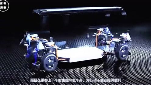 国外研发未来汽车黑科技,车轮能360度转向,同时能调节车身高度