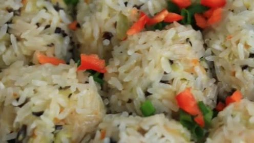 糯米蔬菜丸子:好吃营养又可口,挑食的人吃了都停不下来筷子