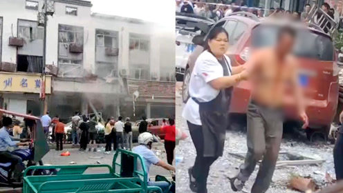 江苏无锡一小吃店发生燃气爆炸,现场一片狼藉,已致6人死亡