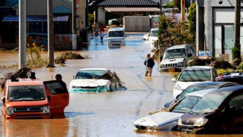 """强台风侵袭下的日本满目疮痍,中国网友纷纷送上""""祝福"""""""