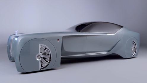 """劳斯莱斯真是名不虚传,最新款""""概念车"""",网友:实在是奢华"""