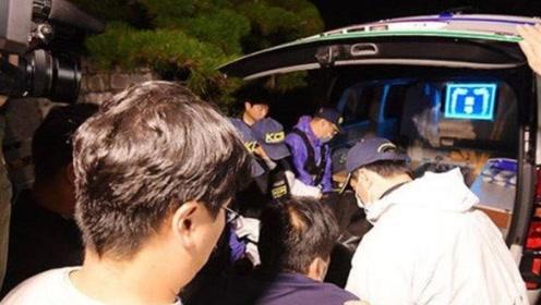 韩警方在雪莉住宅调查结束 将遗体通过救护车载离现场