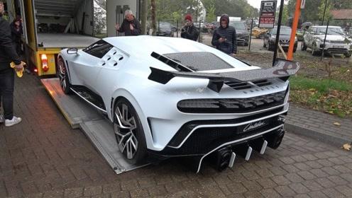 价值900万美元的布加迪跑车,装车那一刻才是霸气的开始!
