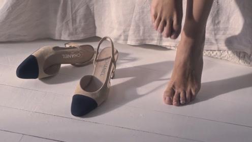 """香奈儿鞋子有多""""娇气""""?看女友下一秒的做法,我惊呆了!"""