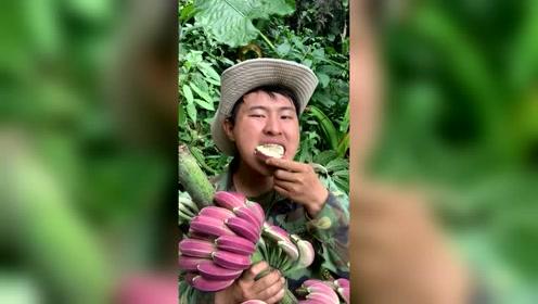 哇!好漂亮的香蕉,惹得我好想尝一个!