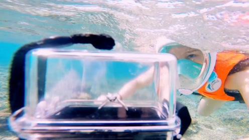 魏晨深夜晒潜水视频,宣布成功求婚女友,水中求婚超甜超浪漫