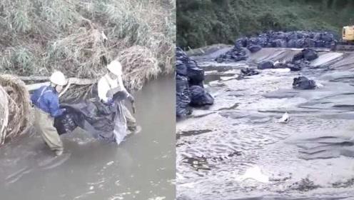 台风冲走福岛核废料只找回空袋子,日方称对环境无影响