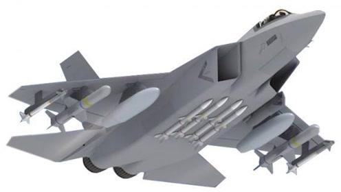 韩国四代机KF-X曝光 自称超越F-35