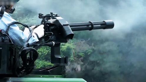 十年磨一枪!国产7.62毫米转管机枪1分钟倾泻6000发子弹