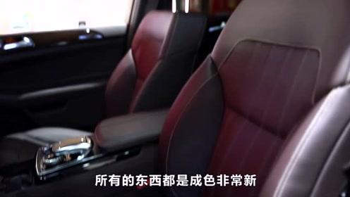 85万左右的奔驰SUV,比新车便宜三十多万,性价比很高