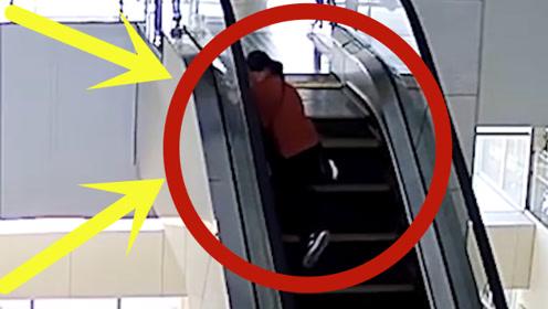 母女俩扶梯上意外摔倒,特警小哥1个折返死神手中勇夺2命,12秒生死时速