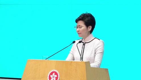 香港如何打击煽暴和不实言论?林郑月娥:将考虑适时更新现行法律