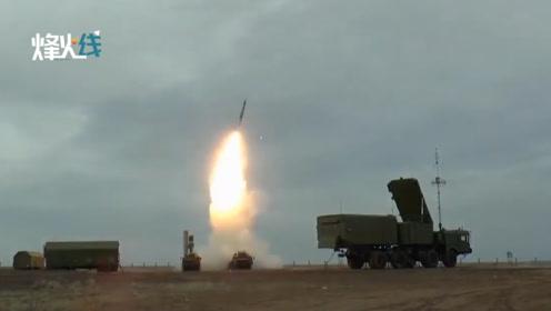 俄军S-400防空系统最新试射画面曝光:8发8中 场面壮观!