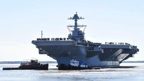 美130多亿航母故障,11台升降机仅2台可用,成本上涨