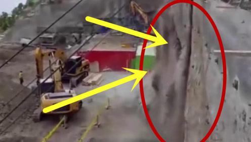 小伙工地施工,无意转头突然拔腿就跑,4秒后的场面太恐怖!