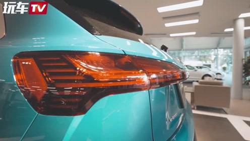 奥迪首款纯电动SUV预售70万起!实拍奥迪e-tron