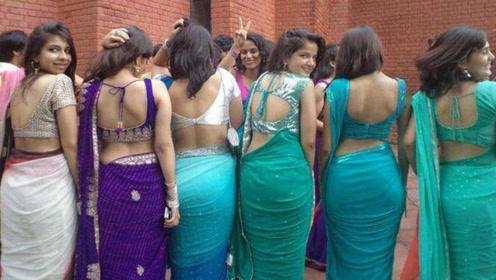 """印度女人可以露胸露肚脐,却不能露这个""""部位"""",让人难以理解"""