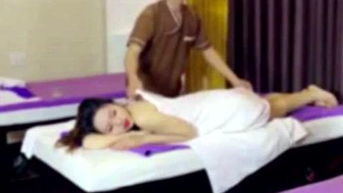 女子按摩时熟睡,男技师图谋不轨趁机爬上,女子羞愧想要轻生!