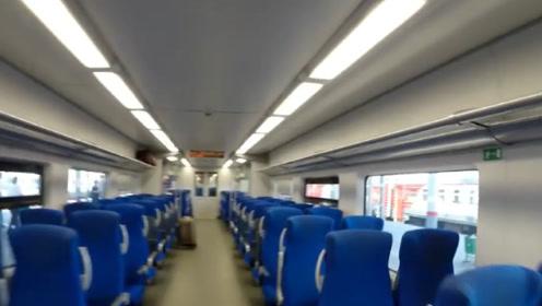 印度夫妻来中国体验高铁,速度快到不敢相信,到站不下车被乘客嘲笑!