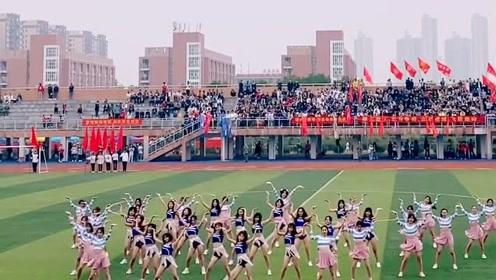 别人家的学姐就是优秀,大学生运动会上活力四射