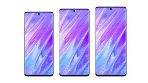 三星Galaxy S11系列曝光,骁龙865加持,全系曲面屏!