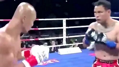 大名鼎鼎的武僧一龙,再次被KO在擂台上,你觉得他实力如何?