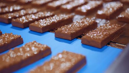 在巧克力威化工厂上班太爽了!数不清的脆皮,不给钱都想来工作