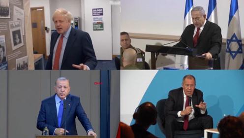 每日全球政要:英首相回答刁钻提问 俄外长指责美国试图控制叙利亚东部