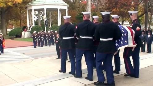 约翰·W·里普利上校的葬礼,美国海军陆战队传奇和英雄