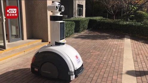 身价30万机器人保安小区巡逻 可监测高空抛物实时反馈