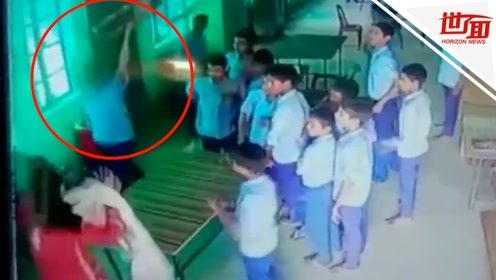 女老师被学生狂扇耳光扔椅子砸头 学生:谁让她嫌我们成绩差