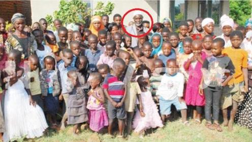 65岁乌干达男子49年内生育176个孩子 现又有6名妻子再度怀孕
