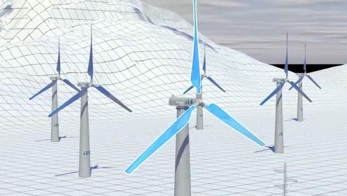 风车转得那么慢为什么还能发电?看完发电原理,感觉工程师好聪明