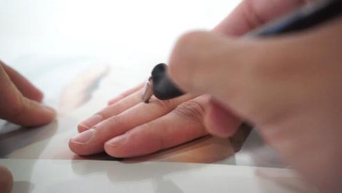 不会割伤手指的裁纸刀,能剪碎硬纸布料,却不可能伤害人体