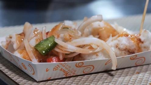 韩国的锅包肉什么样?少了步骤还不好看,看着就没国内的好吃