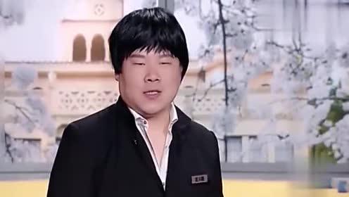 岳云鹏戴假发台上表演贯口相声!没开口就笑场!观众:吁!