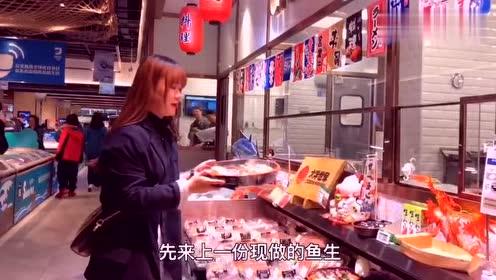 京东在亦庄开了个超市,你会排队去吃海鲜么?#北京美食发现#