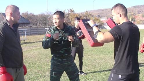 厉害!中国武警国外执教展示中国功夫