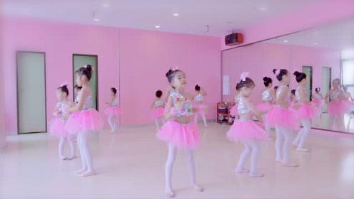 少儿中国舞《粉可爱》,粉粉嫩嫩的孩子模样!