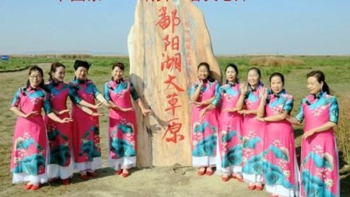 旗袍扇子舞《中国茶》秀出中国女人的优雅体态,真迷人
