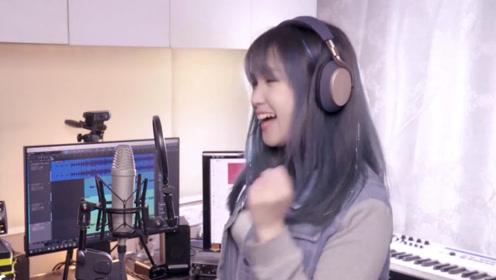 小姐姐翻唱《大田后生仔》,加速版听起来太活泼,被洗脑了!