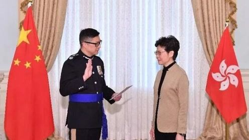 """香港警队新""""一哥""""邓炳强:四大策略处理好这场抗暴硬仗"""