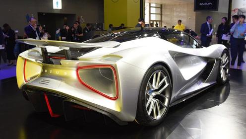 2019广州车展:全球最大马力量产纯电超跑 实拍路特斯Evija