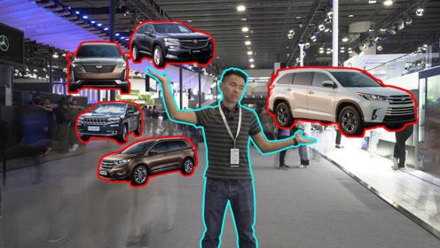 不服来战:四大美系7座SUV对比汉兰达,结果你猜?