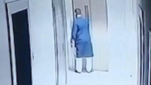 """男子参加订婚宴遭""""吃人""""电梯吞亡 坠楼瞬间曝光"""