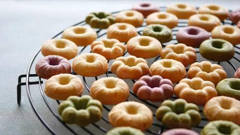 自己在家就能做美味饼干!DIY各种花朵圆圈等造型百变,好玩有趣