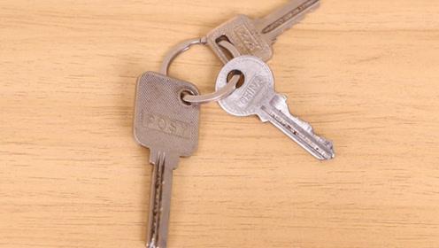 """原来废旧钥匙这么""""值钱"""",有趣又实用,可惜现在才知道,不学太亏"""